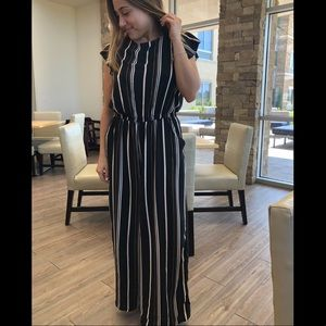 Other - Striped Jumpsuit
